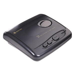 Kinyo 2-Way VHS Rewinder/Cleaner - Black