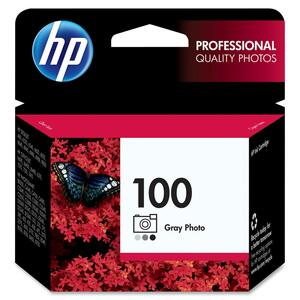HP 100 Gray Photo Original Ink Cartridge HEWC9368AN