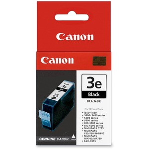 Canon BCI-3eBk Ink Cartridge CNMBCI3EBK