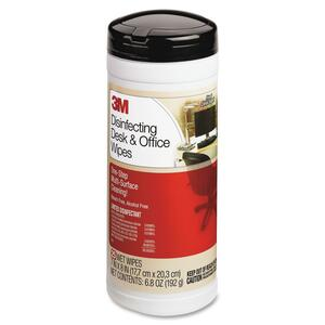 3M CL564 Disinfecting Desk & Office Wipe - Cleaning Wipe