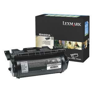 Lexmark Black Return Program Toner Cartridge LEXX644H01A