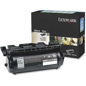 Lexmark X644A11A Black Return Program Toner Cartridge LEXX644A11A