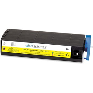 Media Sciences MS7000Y (41963001 41304205) Okidata Compatible C7200 High Capacity Toner Cartridge MDAMS7000Y
