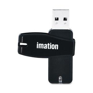 Imation 4GB Swivel USB 2.0 Flash Drive IMN18385