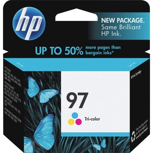 HP No. 97 Tri-color Ink Cartridge - Inkjet - 450 Page - Color