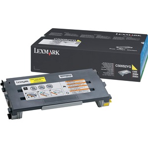 Lexmark Yellow Toner Cartridge LEXC500S2YG