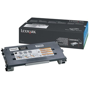 Lexmark Black High Yield Toner Cartridge LEXC500H2KG