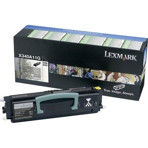 Lexmark Black Return Program Toner Cartridge LEXX340A11G