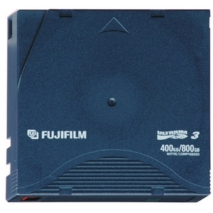 Fujifilm LTO Ultrium 3 Tape Cartridge - 400 GB / 800 GB - storage media (126021)