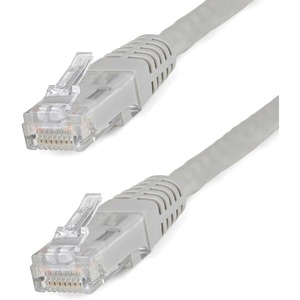 STARTECH 20FT GRAY MOLDED CATEGORY 6 PATCH CABLE - ETL VERIFIED