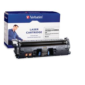 VERBATIM HP C9700A & Q3960A BLACK TONER