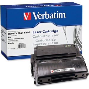 Verbatim HP Q5942X Remanufactured High Yield Toner Cartridge for LaserJet 4250, 4350 Series VER95383