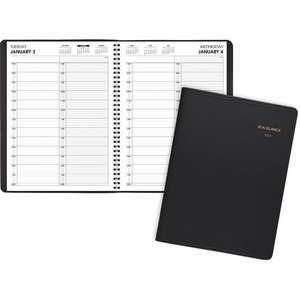 At-A-Glance Professional 2-Person Daily Appointment Book AAG7022205