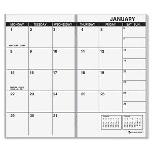 At-A-Glance Dated Monthly Appointment Book Refill AAG7090610