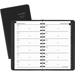 At-A-Glance Telephone and Address Book AAG8020105