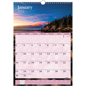At-A-Glance Scenic Monthly Wall Calendar AAGDMW20028