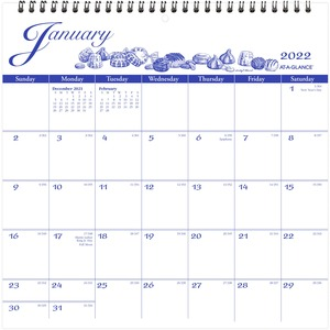 At-A-Glance Illustrated Monthly Wall Calendar AAGG100017