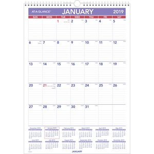 At-A-Glance Wall Calendar AAGPMLM0228