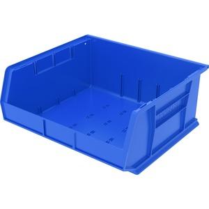 Image for Akro-mils / Myers Industries, Inc Akro-mils Akrobin - 7 Height X 16.5 Width X 14.8 Depth - Rack-mountable - Blue - Polymer - 1 / Each