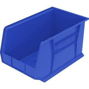 Image for Akro-mils / Myers Industries, Inc Akro-mils Akrobin - 9 Height X 8.3 Width X 18 Depth - Rack-mountable - Blue - Polymer - 1EACH