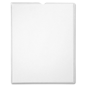 "Anglers Sturdi-Kleer Traditional Envelope - Letter - 8.5"" x 11"" - 10 / Pack - Clear"