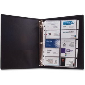 Anglers 3-Ring Business Card Binder ANG303