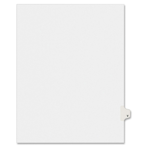 Avery Individual Legal Divider AVE01422