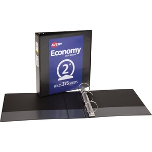 Avery Economy View Round Ring Reference Binder AVE05781
