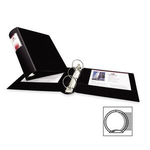 "Avery Heavy-Duty 3-Ring Vinyl Binder - Letter - 8.5"" x 11"" - 375 Sheet x 2"" Capacity - 1 Each - Black"