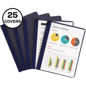 Avery Coated Paper Clear Front Report Cover AVE47961