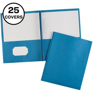 Light Blue Pocket Folder