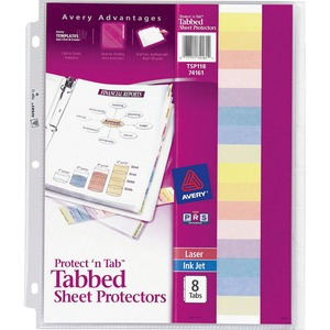 Avery Protect 'n Tab Top Loading Sheet Protector AVE74161