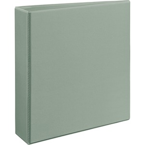 "Avery Heavy-Duty Reference EZD View Binder - Letter - 8.5"" x 11"" - 540 Sheet x 2"" Capacity - 1 Each - Gray"