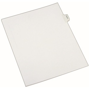 Avery Legal Exhibit Index Divider AVE82109