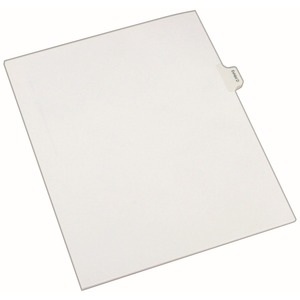 Avery Legal Exhibit Index Divider AVE82110