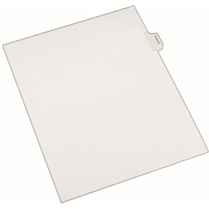 Avery Legal Exhibit Index Divider AVE82119