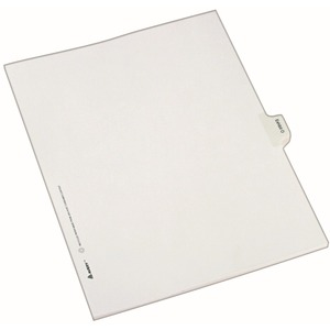 Avery Legal Exhibit Index Divider AVE82121