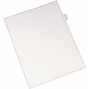 Avery Individual Legal Tab Divider AVE82169