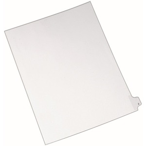 Avery Individual Legal Tab Divider AVE82188
