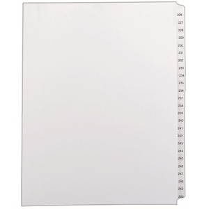 Avery Side Tab Collated Legal Index Dividers AVE82192