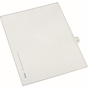 Avery Side-Tab Legal Index Divider AVE82208