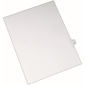 Avery Side-Tab Legal Index Divider AVE82216