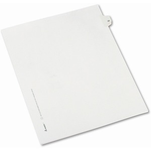 Avery Side-Tab Legal Index Divider AVE82220