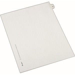 Avery Side-Tab Legal Index Divider AVE82222