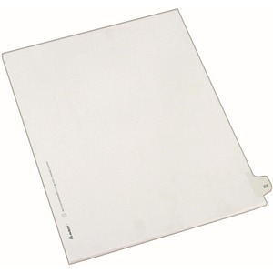 Avery Side-Tab Legal Index Divider AVE82225