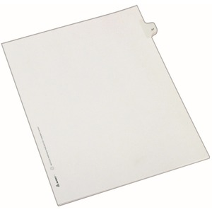 Avery Side-Tab Legal Index Divider AVE82245