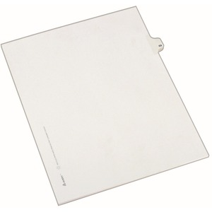 Avery Side-Tab Legal Index Divider AVE82267