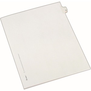 Avery Side-Tab Legal Index Divider AVE82271