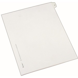 Avery Side-Tab Legal Index Divider AVE82273