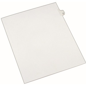 Avery Side-Tab Legal Index Divider AVE82278